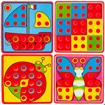 Picture of Puzzle mozaic cu piese tip ciupercute, Malplay 107320