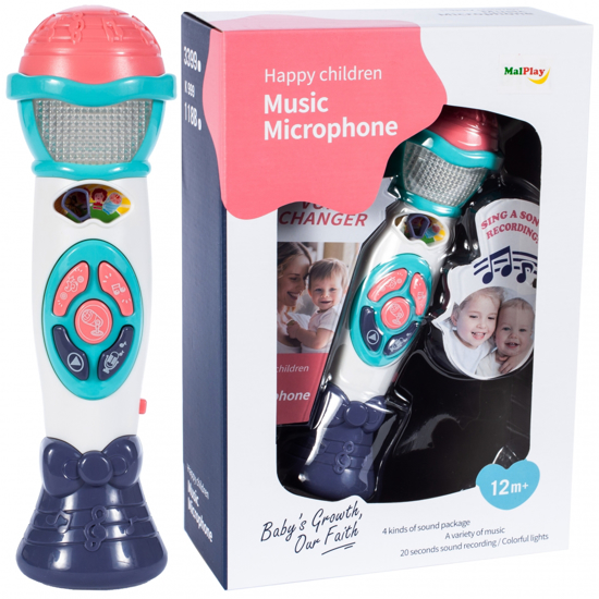 Picture of Microfon Karaoke, Malplay, 107121