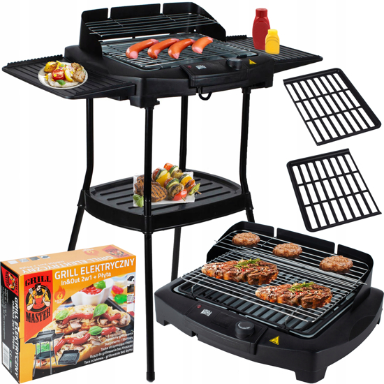 Picture of GrillMaster electric In&Out 2 in 1, MalTec, 108118