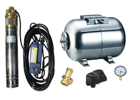 Picture of Kit complet sistem hidrofor, pompa submersibila Maxima SKM 100