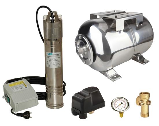Picture of Kit complet sistem hidrofor, pompa submersibila SUMOTO ONKM150