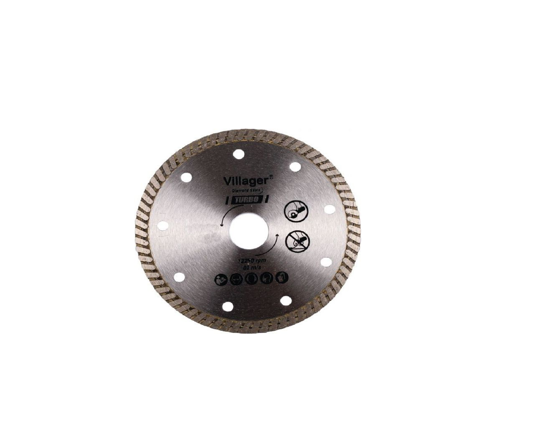 Picture of Disc taiere diamantat - turbo DCBT-180 mm, Villager VL060662