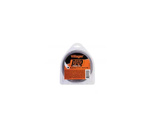 Picture of Fir rotund nailon pentru trimmer 2.7MM X 15M Duo Core Villager VL068380