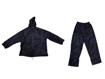 Picture of Set pelerina si pantaloni de ploaie din PVC / Poliester, marimea M Geko G90046-M