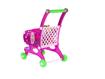 Picture of Carucior roz de cumparaturi cu produse, MalPlay 107229