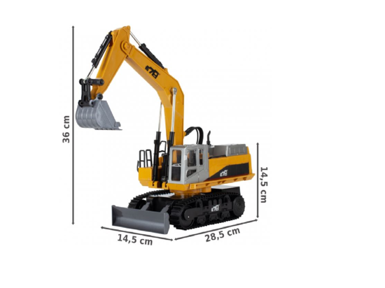 Picture of Excavator RC Giant 12 canale, MalPlay 108508