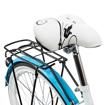 Picture of Bicicleta dama  BLUE cu cos de cumparaturi si motive florale Maltrack 108873